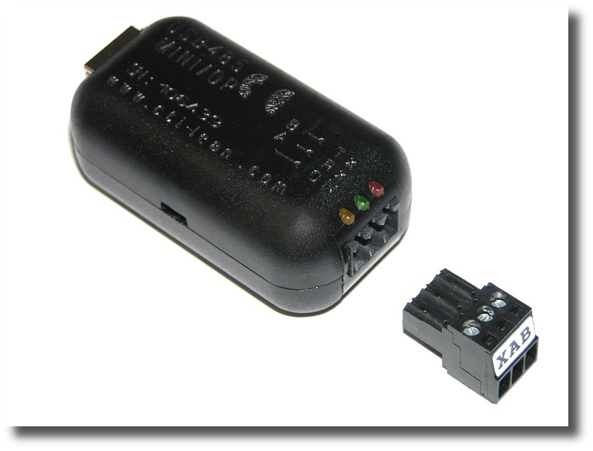 product information and ordering of USB-485-Mini converter.